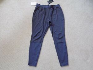 "NEW MENS M MEDIUM NIKE SWIFT FLEX 27"" RUNNING PANTS GRIDIRON PURPLE GREY 928583"