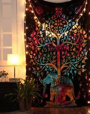 Indian Decor Mandala Tapestry Wall Hanging Hippie Bohemian Twin Bedspread63