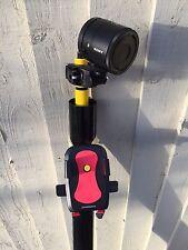 11 M fotocamera Elevato Pole Fotografia Macchina Fotografica Telescopico Pole Mount & BASE CRADLE