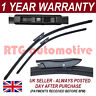 """FOR RENAULT LAGUNA MK3 07 ON DIRECT FIT FRONT AERO WIPER BLADES PAIR 26"""" + 16"""""""