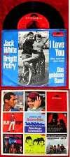 Single Jack White & Brigitt Petry: I Love you (Somethin Stupid) (Polydor 52 821)
