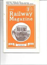 Railway Magazine- October 1940 No.520 Vol.86 DH