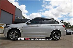 BMW X5 F15 WAGON 2014-2019 WEATHER SHIELD WEATHERSHIELD WINDOW DOOR VISOR GUARD
