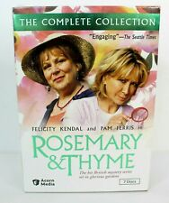 Rosemary & Thyme The Complete Collection 7 Discs Set 2005 DVD New Factory Sealed