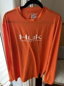 Huk Icon Performance Logo Long Sleeve Shirt