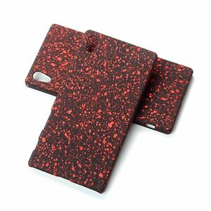 Cell Phone Case Protective Bumper Frame For Sony Xperia Z5 3D Stars Red New