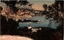 CPA   Beaulieu - Environs de Nice - Vue entre les Oliviers -The Nice... (514240)