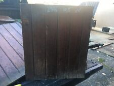 "c1900 antique cabinet pantry door bead board heart pine 23"" x 19.5"""