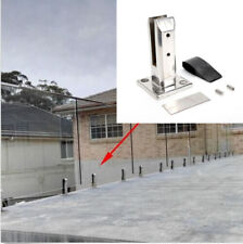 12mm Floor Standing Stairs Balcony Pool Glass Spigots Post Balustrade Clamp