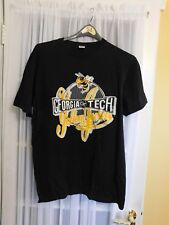 Vintage Russell Athletic Georgia Tech Yellow Jackets T Shirt Size Large