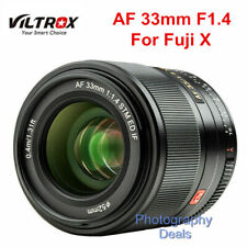 Viltrox 33mm F1.4 Auto Focus XF Mount Lens for Fujifilm FX Fuji X-T3 T4 Camera