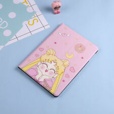 "Sailor Moon Magnetic Flip PU Leather Stand Case Cover For iPad 9.7 "" 2017 / 2018"
