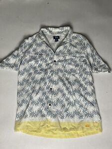 Vintage 90s Stussy bowling shirt - Large