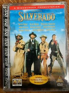 Silverado DVD 1985 Western Classic Film Movie in Super Jewel Case