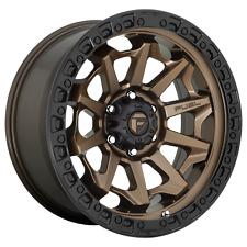 17 Inch Bronze Black Wheels Rims Dodge Ram 2500 3500 Truck 8x65 Lug Fuel D696