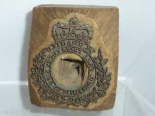Vintage wooden Seal print block letterpress Stamp laundry marker