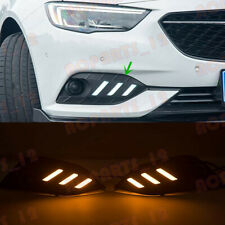 For Buick Regal 2017-18 Sport Style White+Yellow LED Daytime Running Lights