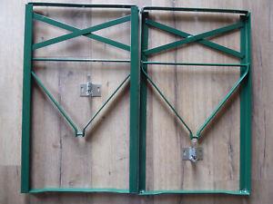 1 Paar Biertischfüße Bierzeltgarnitur Füße  Biertisch Tisch Gestell grün NEU!!!