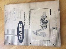 CASE 33 BACKHOE LOADER 580 PARTS CATALOG MANUAL