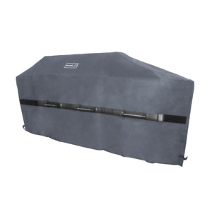 Nexgrill 90 in. Barbecue BBQ Grill Cover Weather Resistant Black Cart Polyester