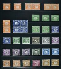 A collection of 49 Postage Due stamps for identification, UM & MM condition.