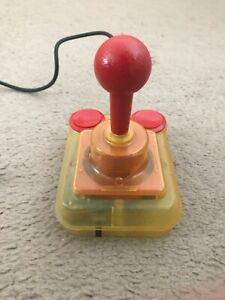 Competition Pro Extra Joystick - Transparent - Amiga Tested - Commodore, Atari
