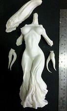 """10""""Female Body with Alien Head Sci-Fi  Resin Model Kit 1/6"""