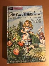 Vtg. Companion Library 2 in 1 Alice in Wonderland and Through The Looking Glass