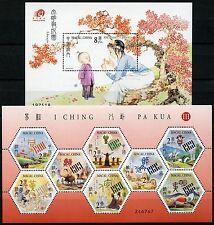 Macau Macao 2003 Hexagramme I Ching Pa Kua III 1287-94 Block 114 MNH