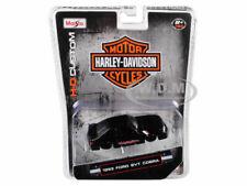 Maisto 1/64 Harley Davidson 1993 Ford SVT Cobra Mustang BLACK 15414-HD2