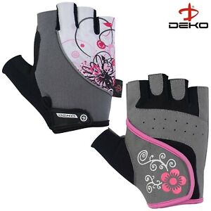 Womens Weight Lifting Gloves Exercise Fitness Workout Cycling Gym Cross Training