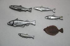 MMB resin cast poissons Set (12 pieces)