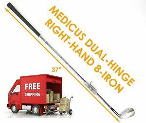 New Medicus Dual-Hinge 8-Iron Right Hand Practice Golf Club Swing Trainer