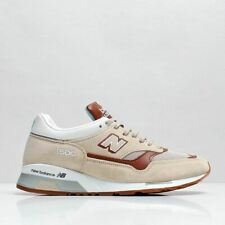 New Balance Men's New 1500STT Premium Suede Leather Shoes Oat Beige Brown