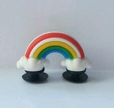 3D Rainbow Shoe Charm - 2 Ends For Crocs Jibbitz Croc