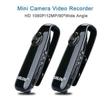 2Pcs Full HD 1080P Bike Mini Camera Dash Cam Police Body Camcorder Record DVR L1