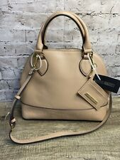 Steve Madden Womens Nude Brevvy Carry/Shoulder Handbag New Logo Faux Leather