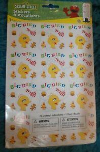 Sandylion Vintage retired  Sesame Street BIG BIRD stickers