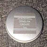 AeroShell 33MS/64 Barrel & Nut Lithium Moly Synthetic Grease-Mil Spec - 1oz Jar