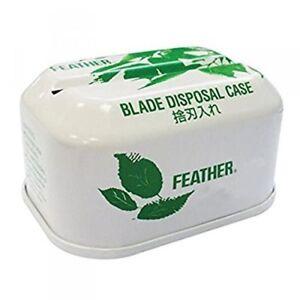 Feather Blade Tin Disposal Case