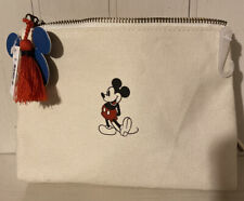 Nwt Disney by Junk Food Target Exclusive Mickey Mouse Canvas Cosmetic Bag