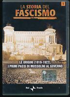 EBOND  La Storia del Fascismo - le Origini 1919-1922 n.1 DVD  EDITORIALE D557945