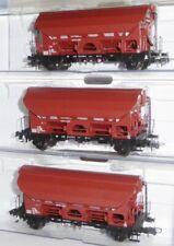 Roco 76179 H0 3-teiliges Set mit Schwenkdachwagen Tds,SNCB Belgien Epoche 4, Neu