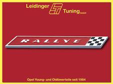 Kadett B   Rallye   Emblem / Schrift für Kofferraumdeckel Kiemencoupé
