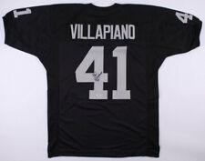 6534ed3256f Phil Villapiano Signed Oakland Raiders Jersey (PSA COA) 4×Pro Bowl (1973