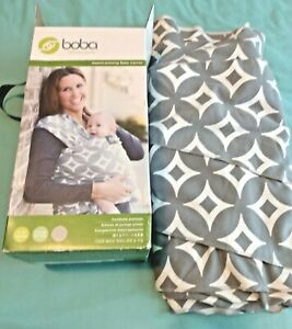 Boba Wrap Baby Carrier Sling 7-35 Lbs Front & Infant Hold Stretch Knit Washable