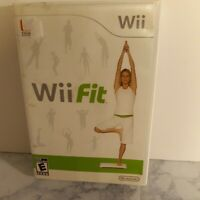 Wii Fit (Nintendo Wii, 2008) No Instructions, Acceptable Condition Used  K