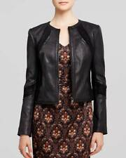 Tory Burch Black Leather Micky Jacket $995 NWT 12  Fall 2014