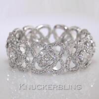 Diamond Full Eternity Ring 1.45ct F VS Brilliant Cut set in 18ct White Gold