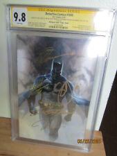 VIRGIN BATMAN Detective Comics 1000 CGC SS 9.8 Signed X5 Dell Otto +4 More RARE!